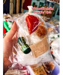Bánh tráng tỏi muối nhiễn
